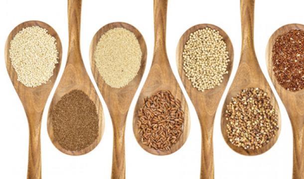 글루텐 없는 곡물들